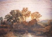 Samuel Palmer The Watermill oil painting picture wholesale